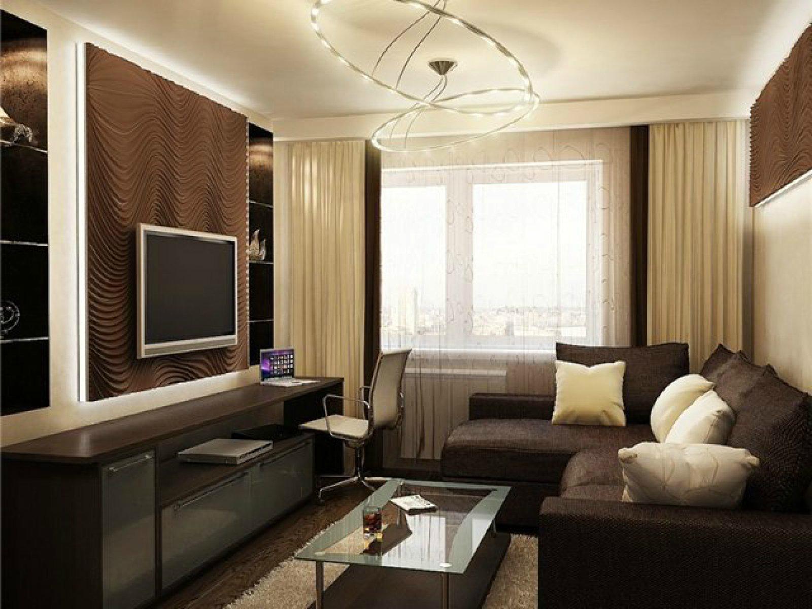 Ремонт гостиной своими руками: фото-идеи интерьера в квартир.