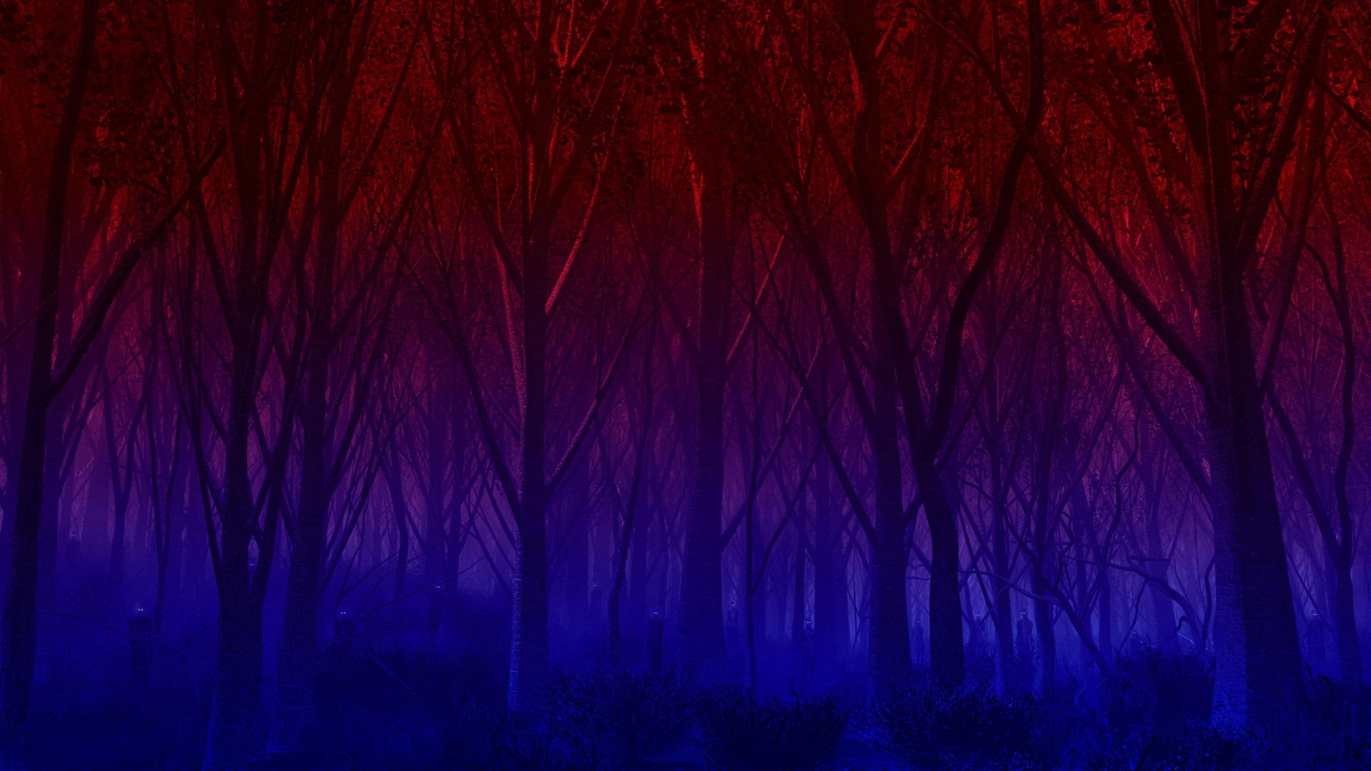 красно синие картинки