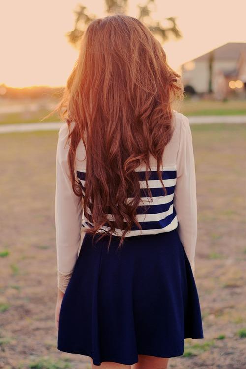 Фото на аву для 14 для девушек со спины