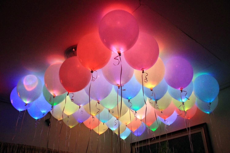 Светящиеся воздушные шары. Как сделать своими руками 8