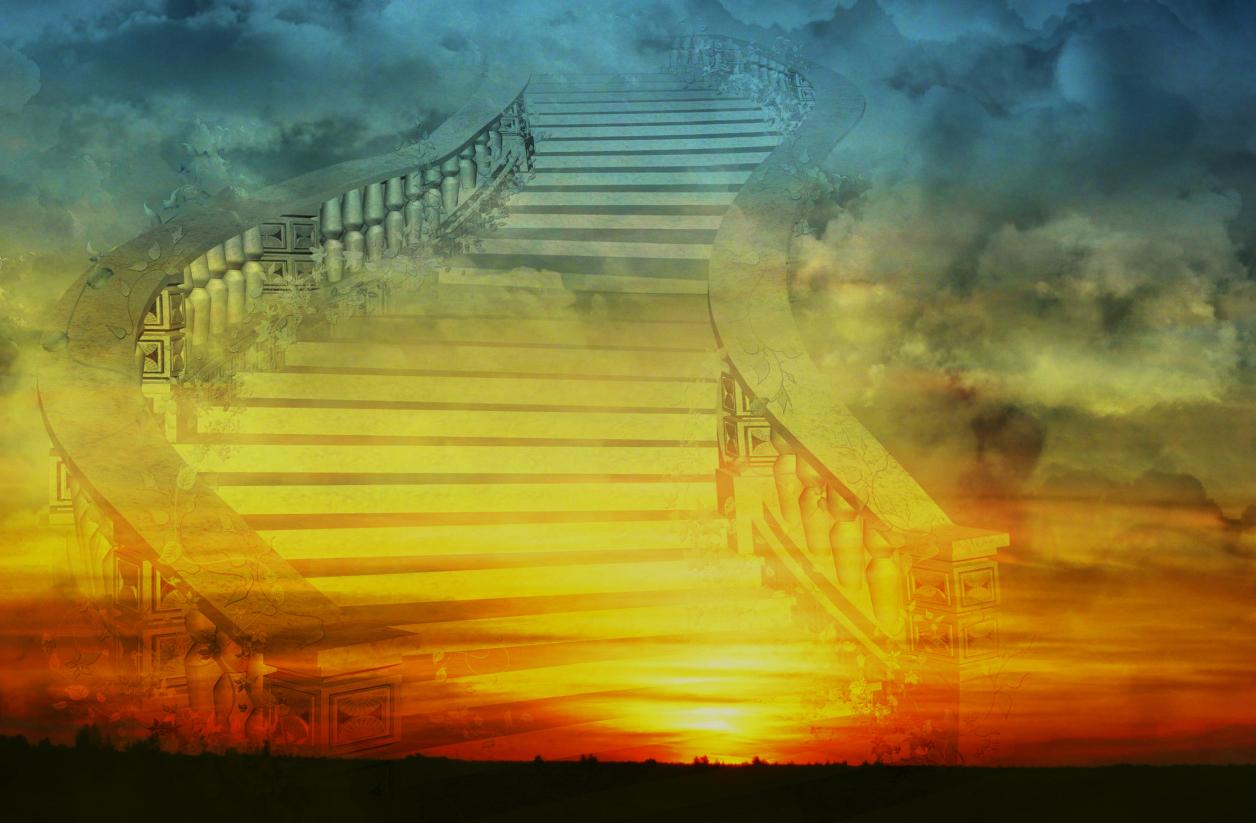 лестница в небо картинка для рабочего стола прекрасный