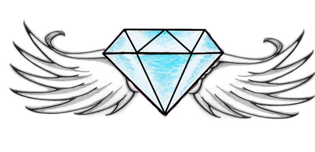 Рисованный алмаз