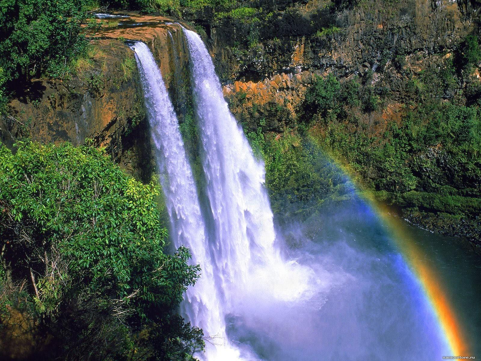 Картинки анимации водопада