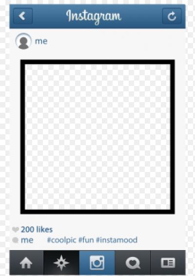 рамка для фото инстаграм