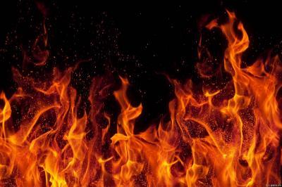 картинки огонь красный
