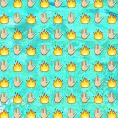 Огонь без фона