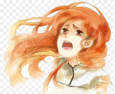 Девушки рыжие плачут #14
