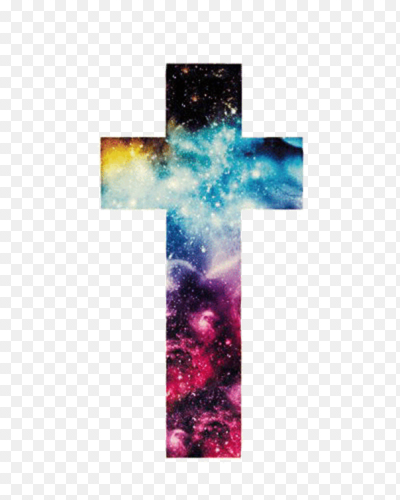 Galaxy cross png