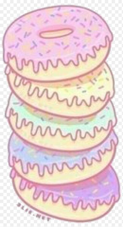 Пончики рисунки для лд