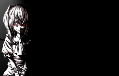 девушка злая картинки аниме
