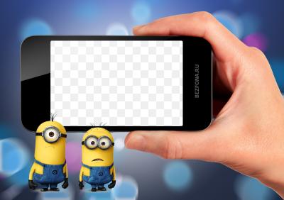 Как на айфоне сделать фото рамку
