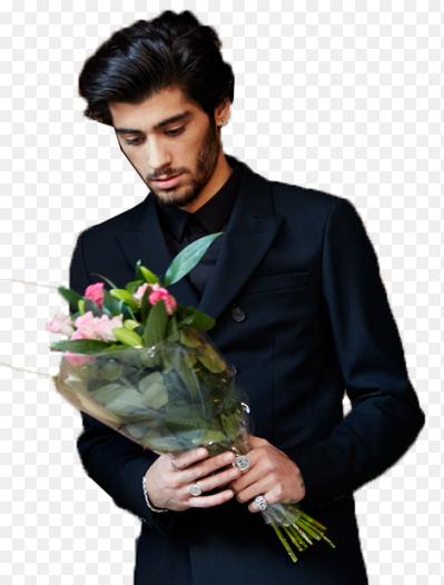Гарри стайлс с цветами фото