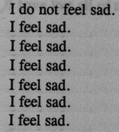 ik voel me depressief