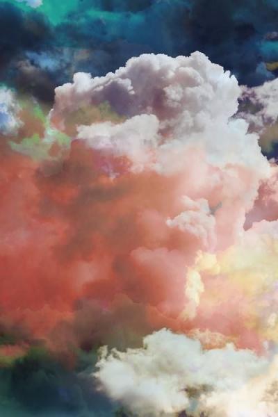 Фото в  розовое облако