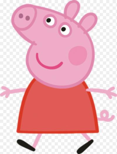 свинка пеппа на белом фоне фото