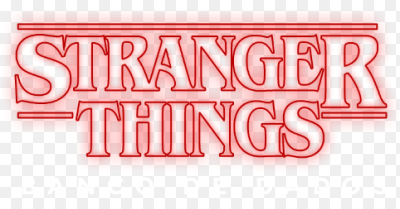 Image result for stranger things logo png