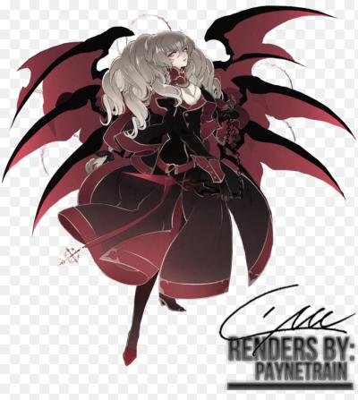 аниме картинки демоны девушки