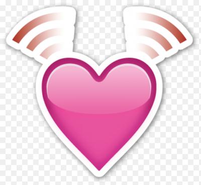 heart bow emoji - 480×445