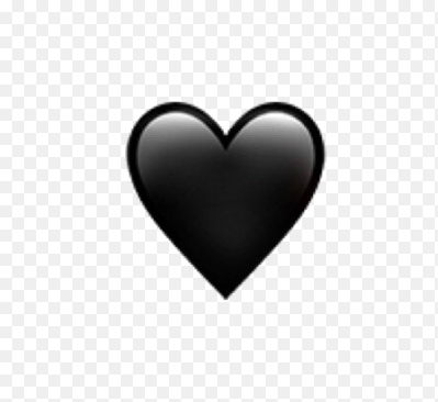 черное сердце картинка