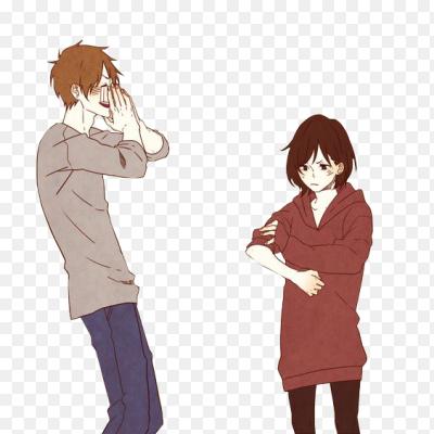 картинки парня и девушки аниме