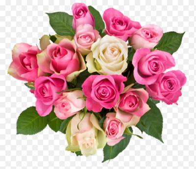 Букет цветов для фотошопа без фона