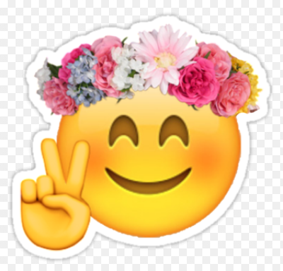 Пнг цветок эмоджи