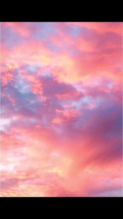 небо розовое картинки