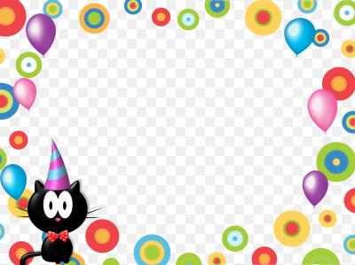 День рождения оформление открытки, клоуна