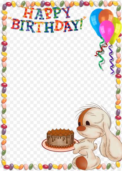 Днем, день рождение картинки для детей шаблоны с поздравлением
