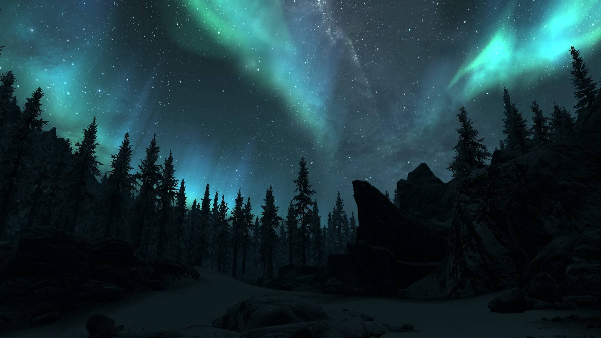 real northern lights wolf - photo #5