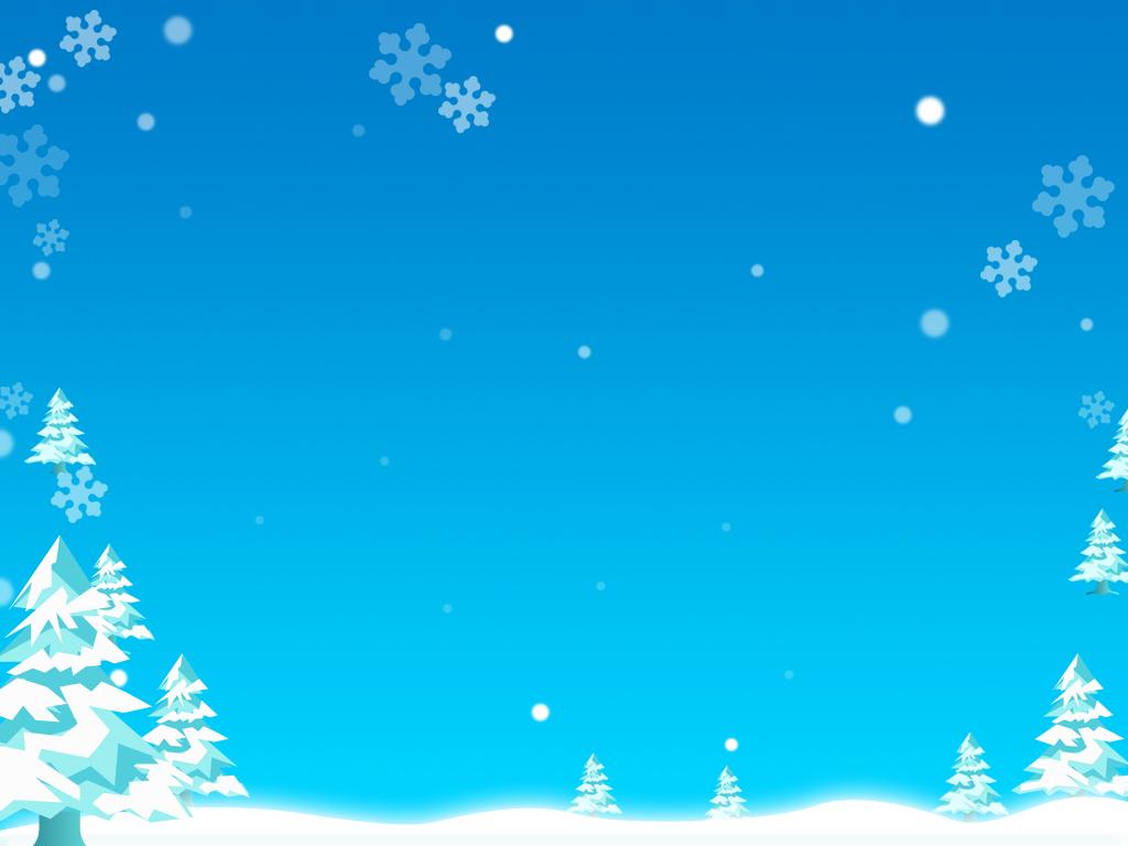 Шаблон презентации зима