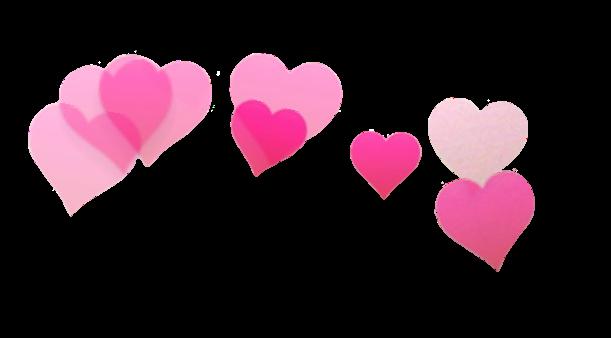 Как на фотографии сделать сердечки над головой
