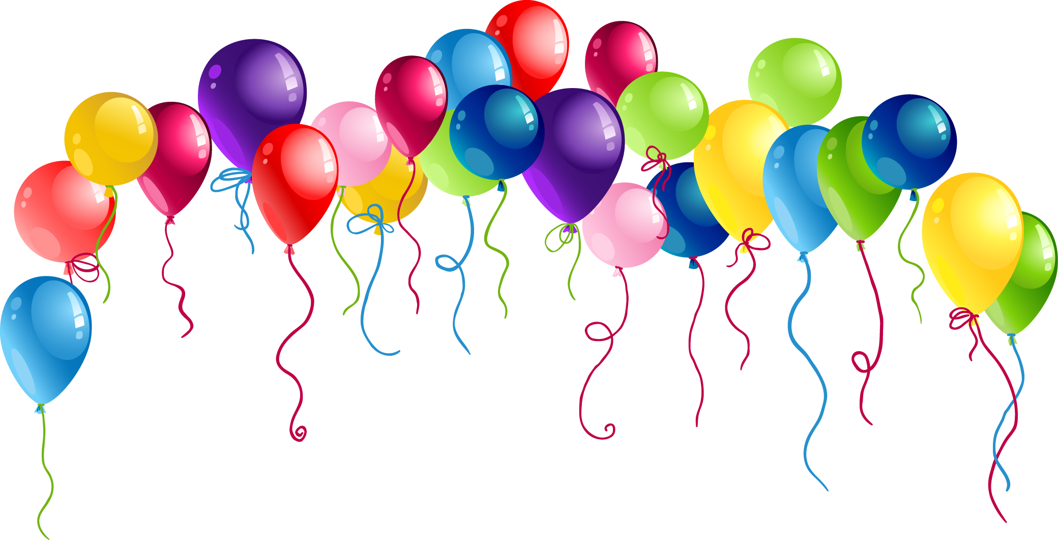 Наклейка Воздушные шарики PNG - AVATAN PLUS