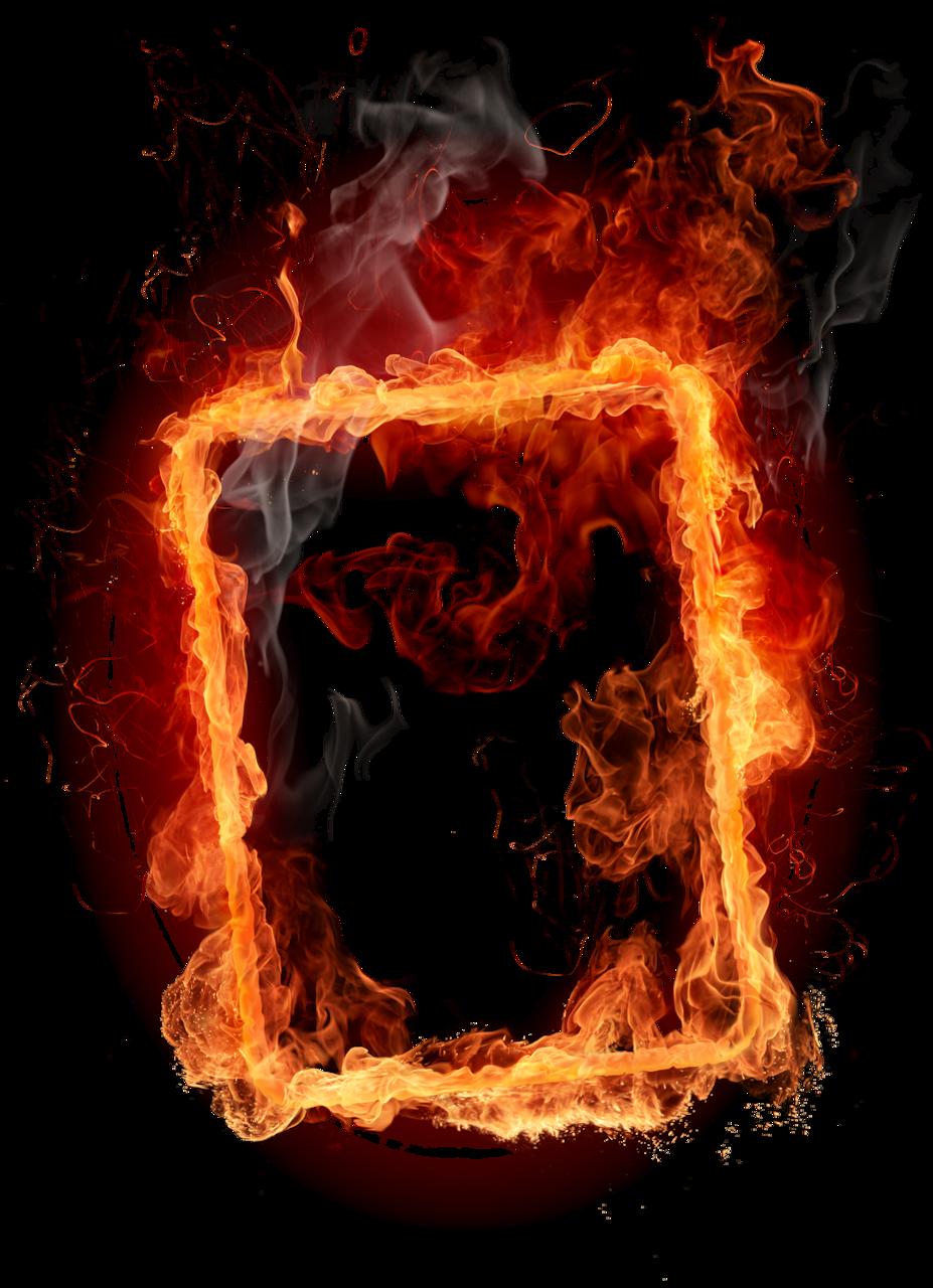 картинки огненных рамок компания