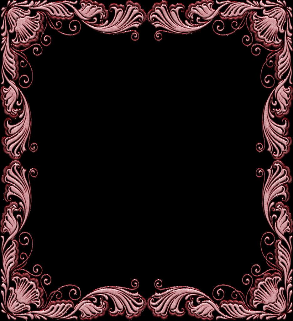 Открытка красивые, узорная рамка для открытки