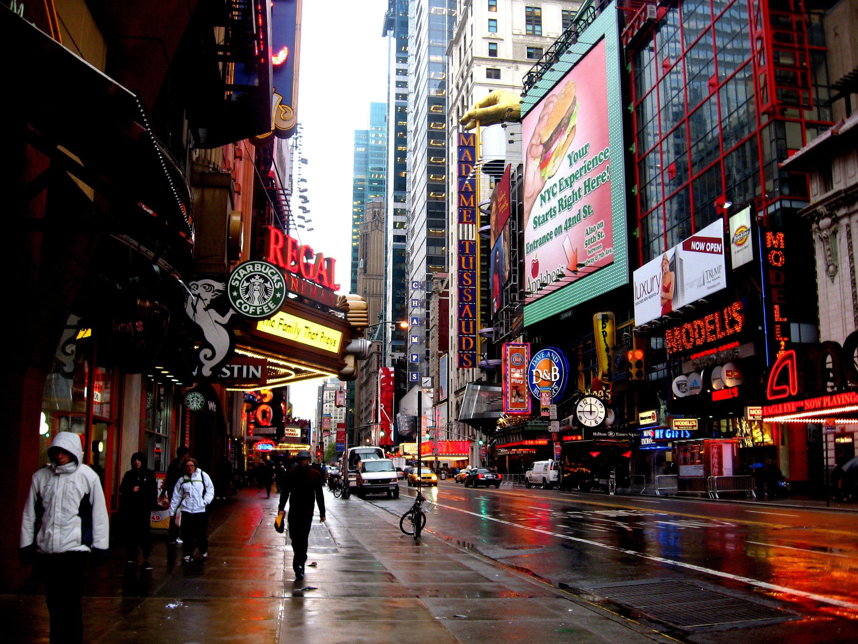 улочка в Нью-Йорке  № 1431641 без смс