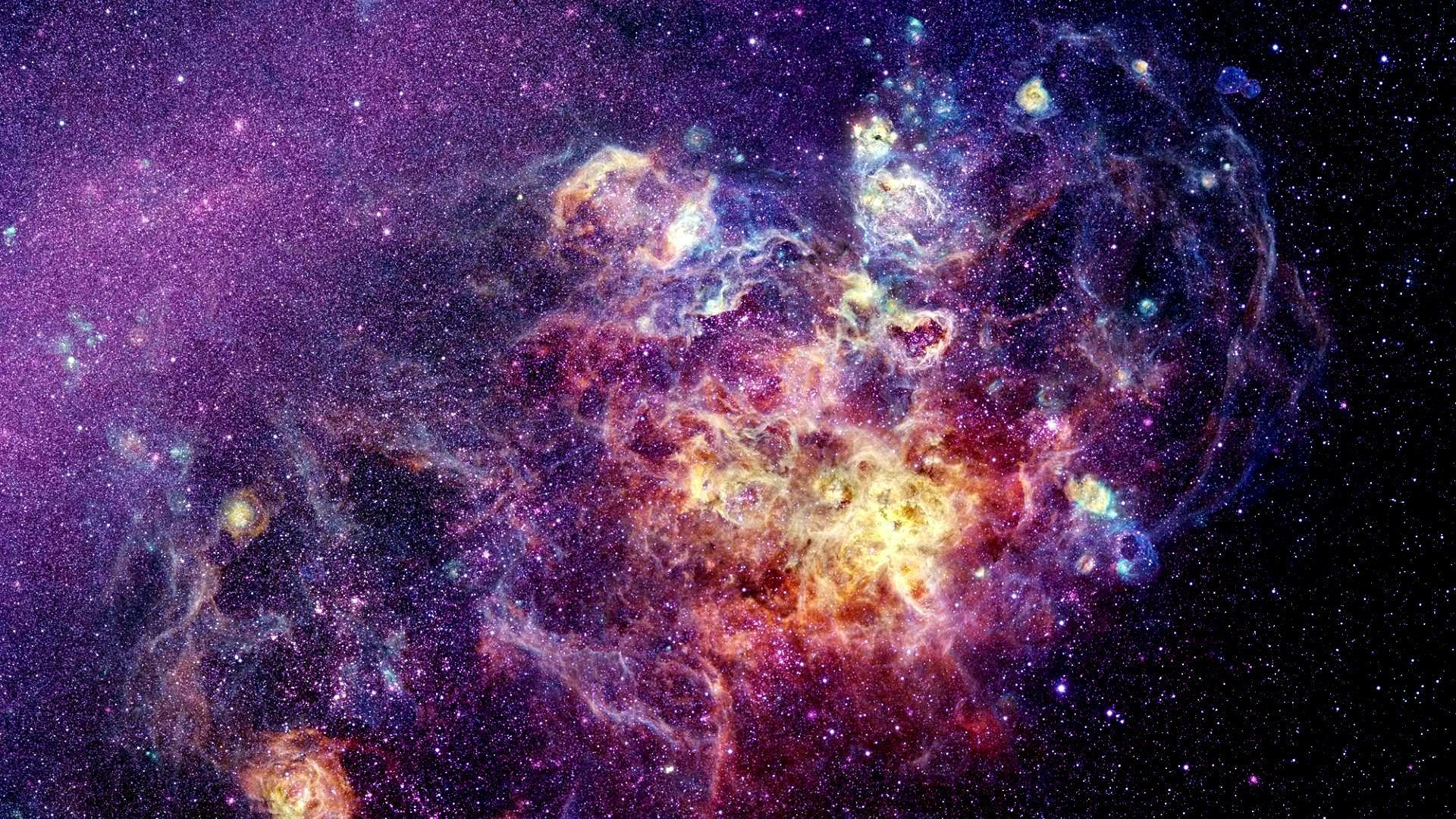 Как создаются картинки космоса