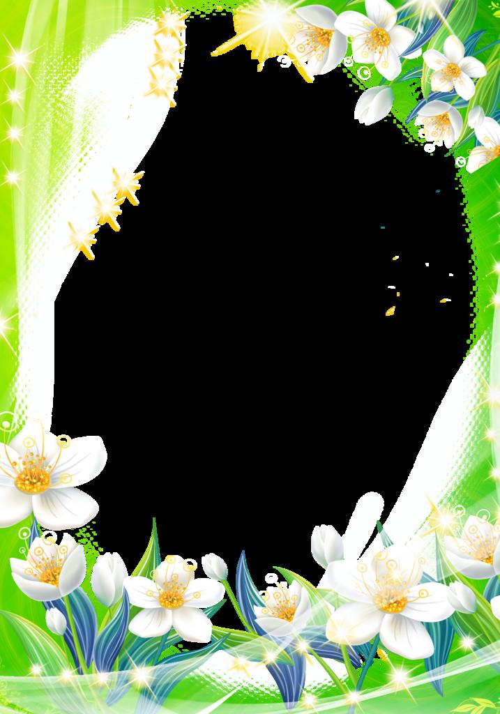 Нарисовать, рамка для поздравления весна