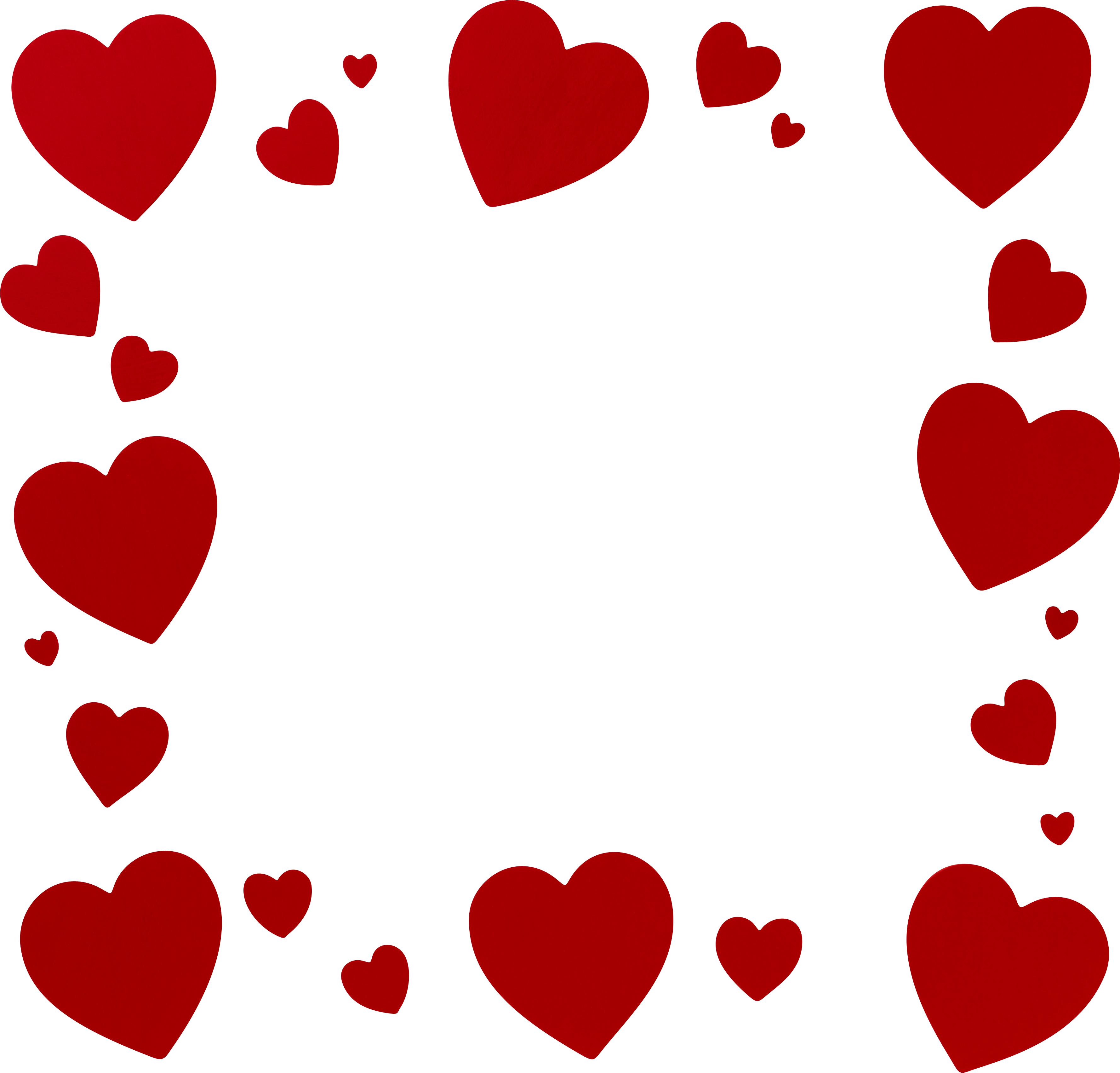 картинки рамочки из сердец является