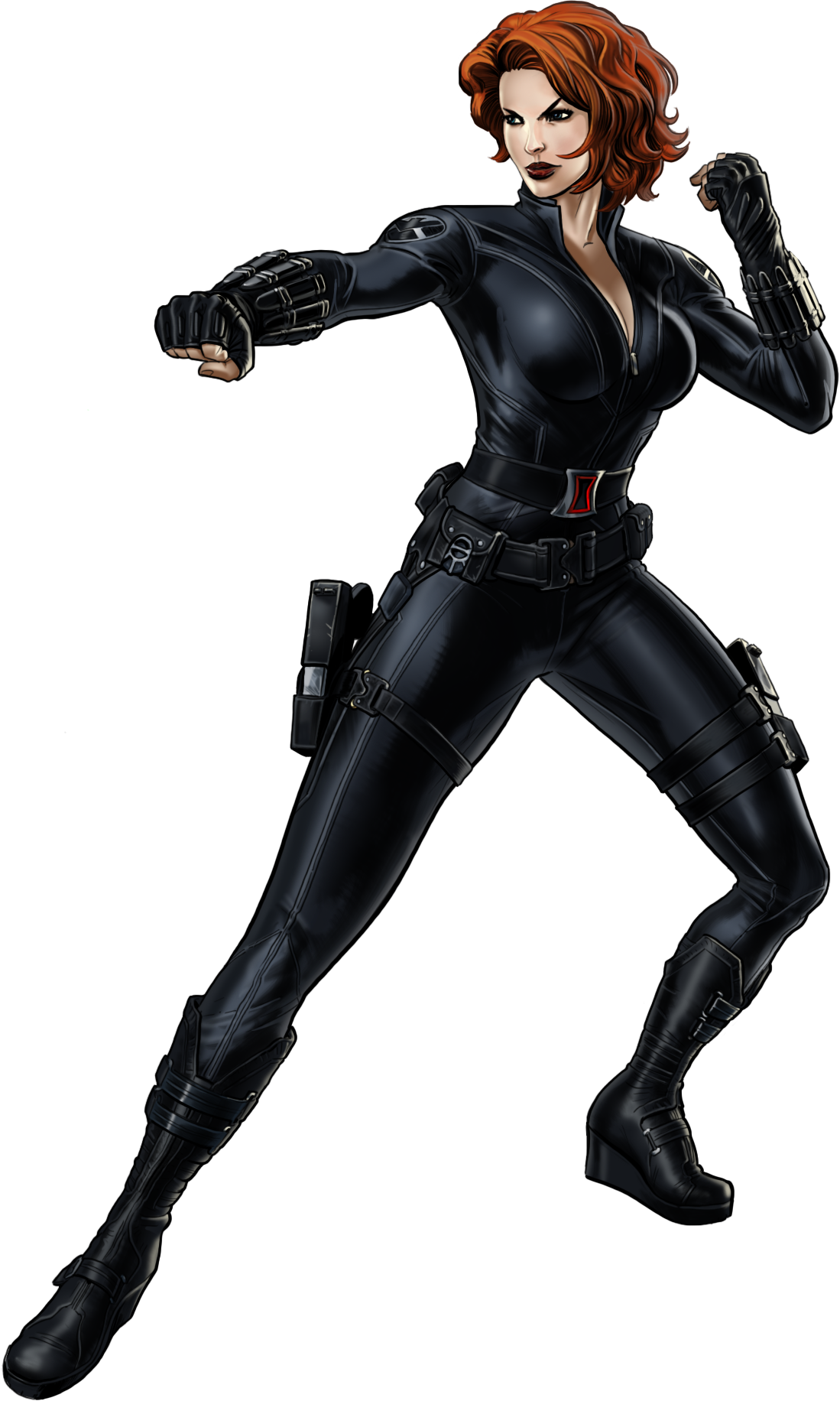 Natalia Alianovna Natasha Romanoff better known as Black Widow is one of the most talented spies and assassins in the entire world and a founding member of