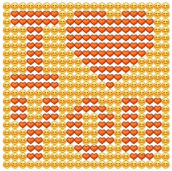 Как вк сделать сердечки