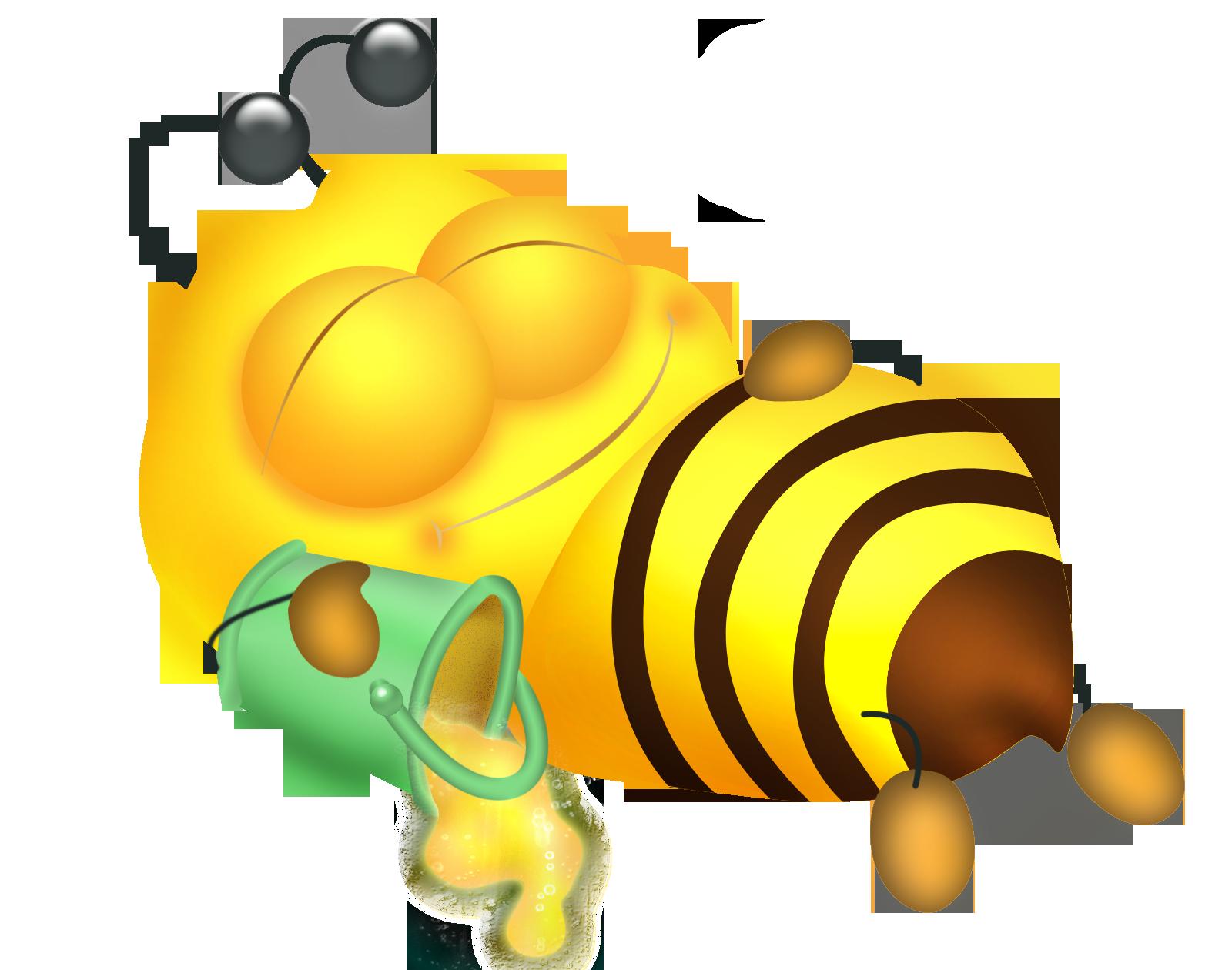Дьявольскими возлюбленными, рисунки смешные пчел
