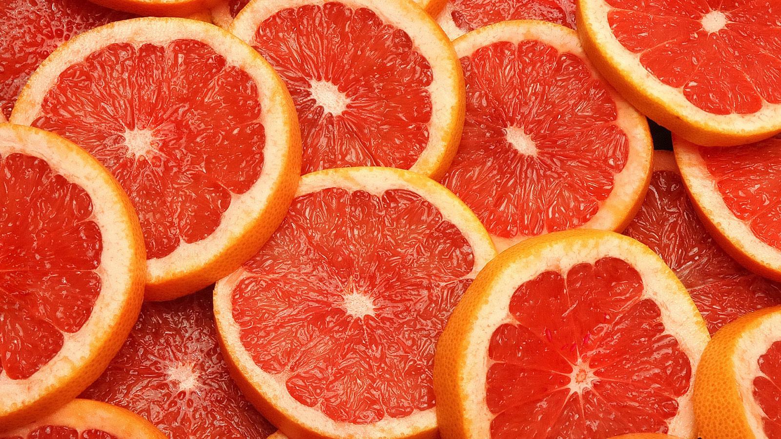 дольки грейпфрута  № 2133929 без смс