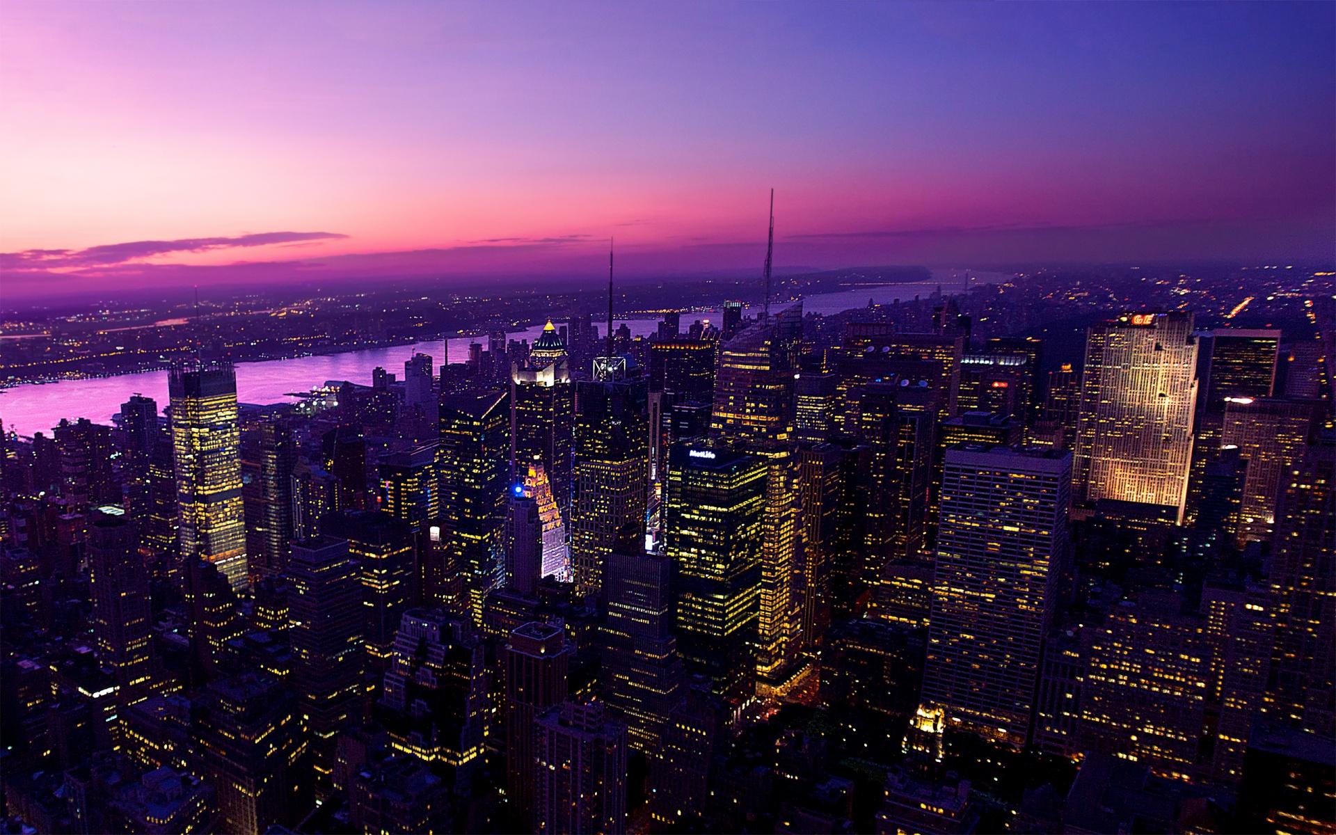 Город ночь небо  № 3705724 загрузить
