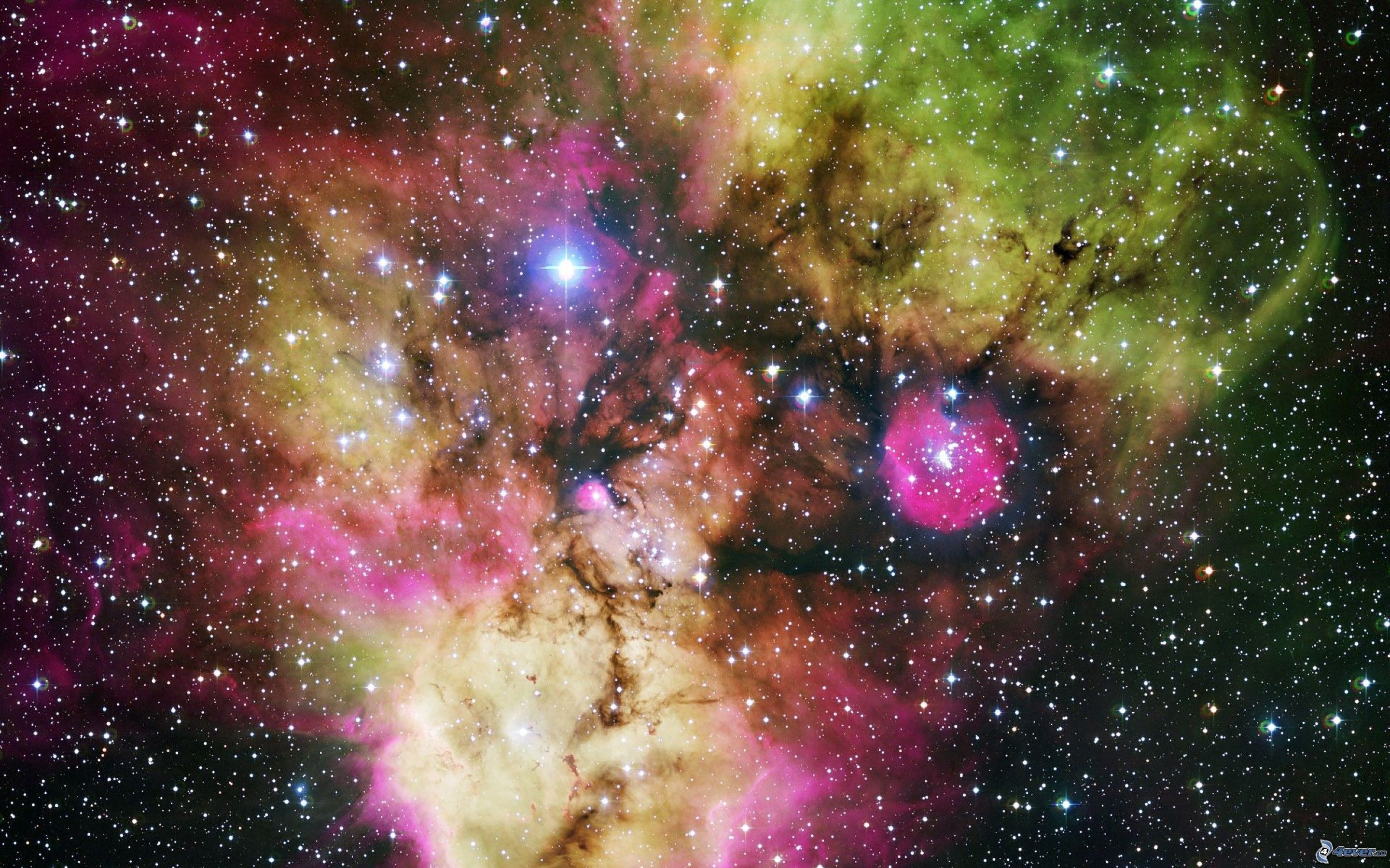 colorful galaxy extra large - HD1600×1000