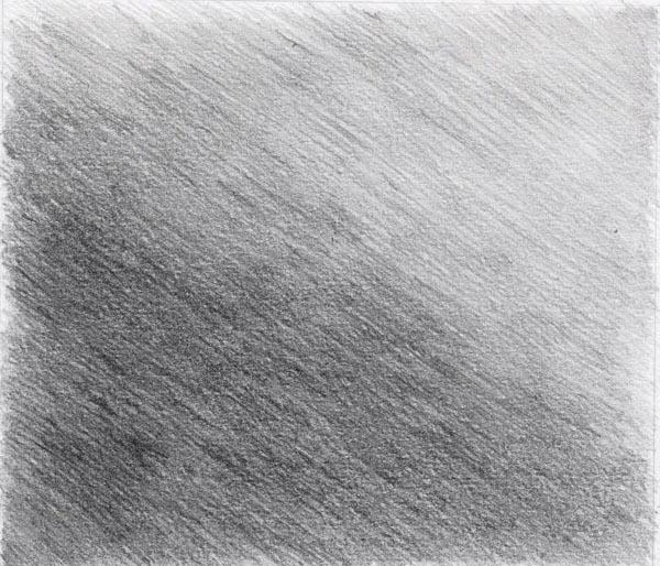Рисунок градиент карандашом