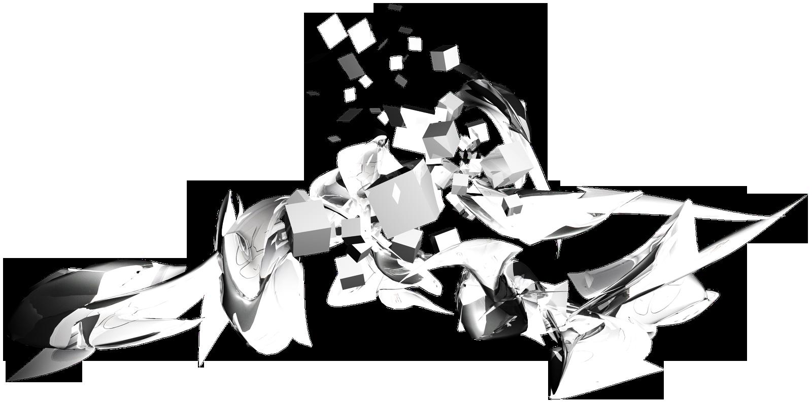 Абстракция на прозрачном фоне картинки