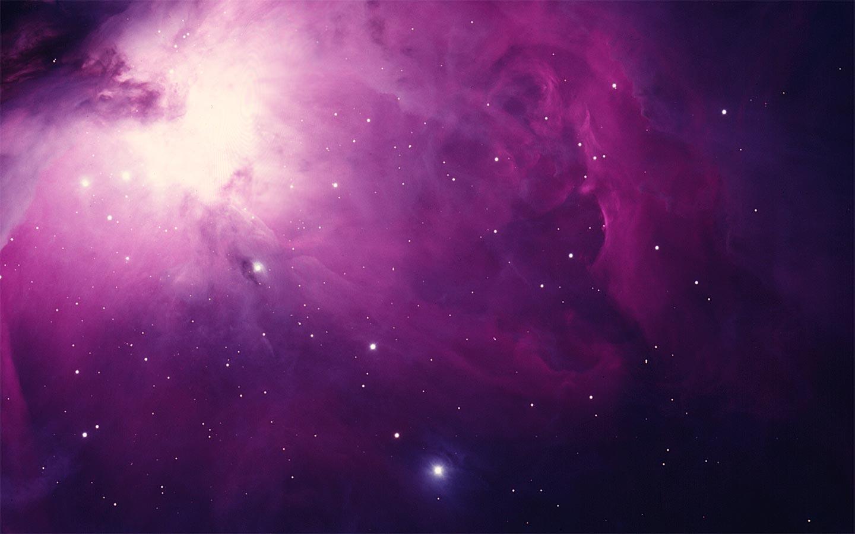 pink nebula images