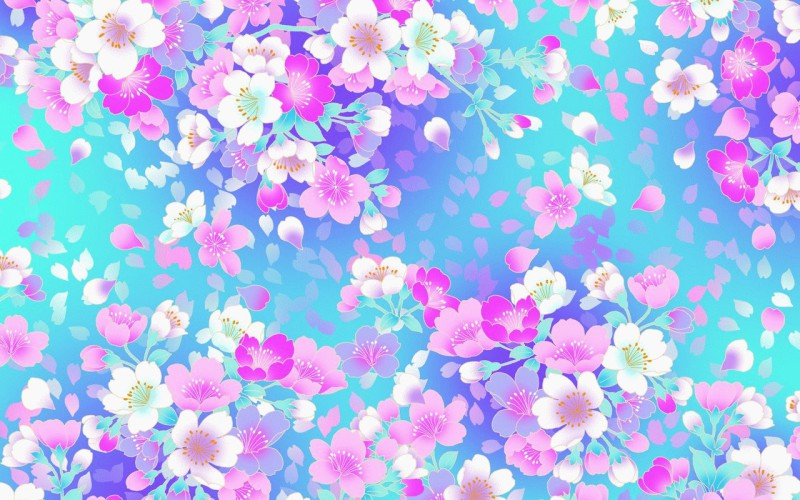Pattern Flower White Background Images Stock Photos