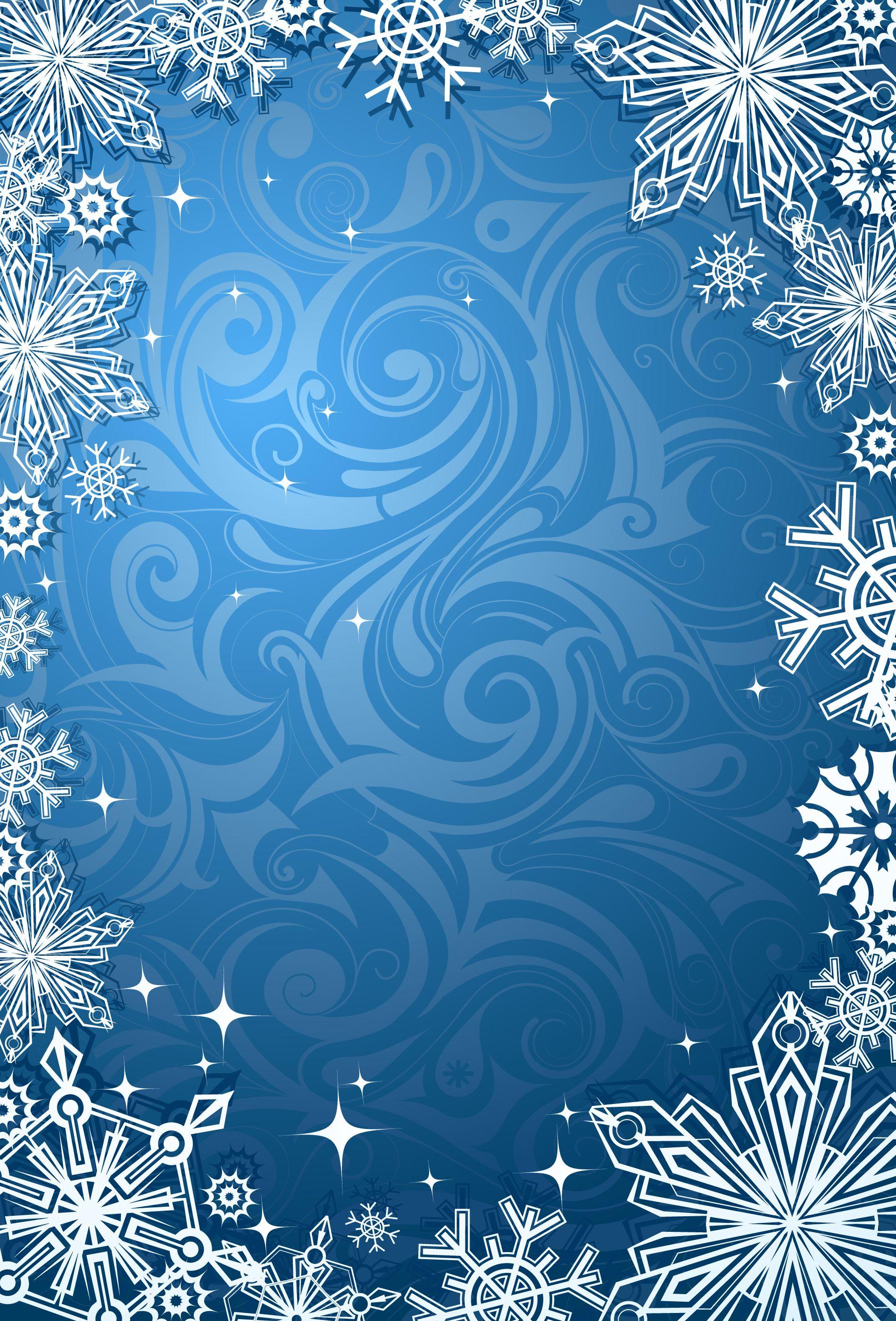 Фон для открытки зима, днем рождения месяц